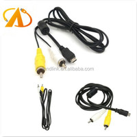 Micro USB Male to 2 RCA Male AV Audio Video Adapter Cable For Samsung Android