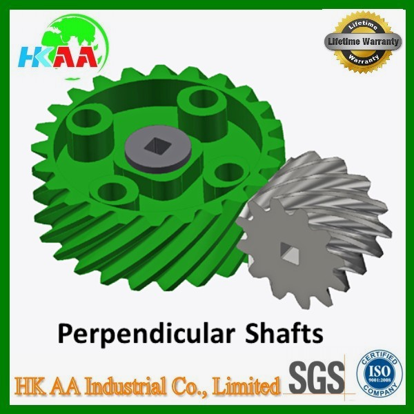 Custom precision stainless steel / alloy aluminum parallel shaft Helical Gears, double helical gears