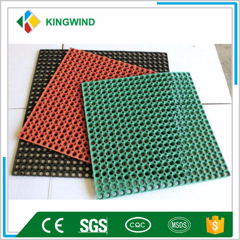 Safety Rubber Floor Mat Interlocking Non Slip Kitchen