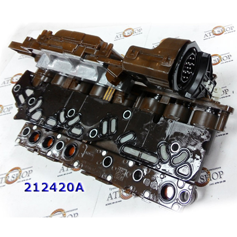 Automatic Transmission Control Processor With A Group Of Solenoids,Solenoid  Connection Plate,6l45 6l50 6l80 6l90 - Buy Ga6l45r 6l45transmission Valve