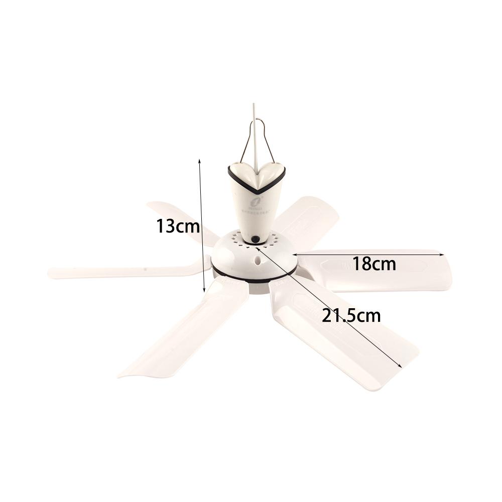 Material De Abs Ac Ventilador De Techo Con 6 Palas Para Uso
