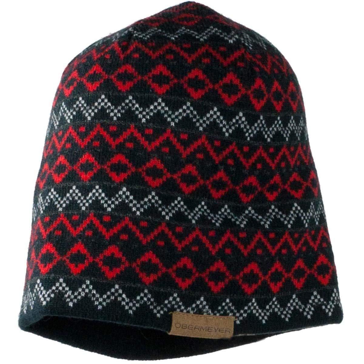 915c780b586 Get Quotations · Obermeyer Mountain Knit Hat Men s