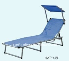 Aluminum Lawn Chair With Awning Long