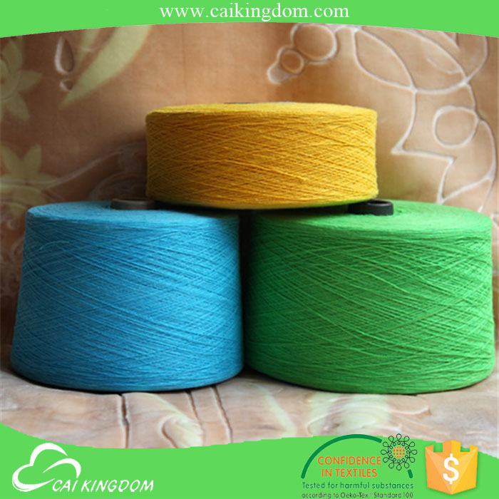 Big factory since 2001 yarn for knitting cotton blended yarn type and knitting weaving use