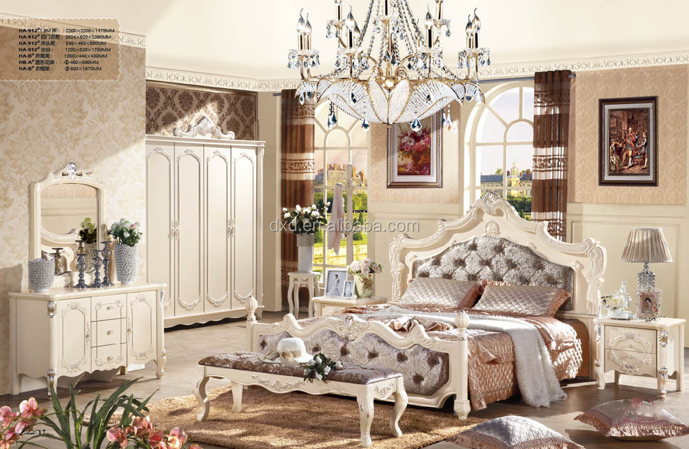 Antique Reproduction French Furniture-french Classic Bed-french ...