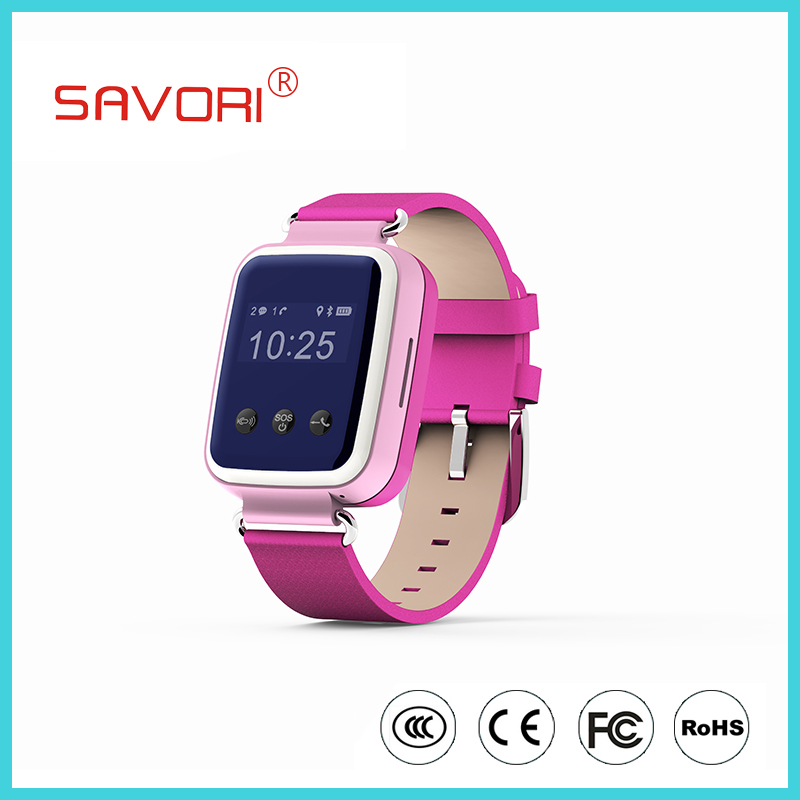 Smart watch mobile phone with touch screen gps