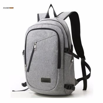 Unisex Casual Nylon Laptop Bag Backpacks School Bag For Dell Or Hp