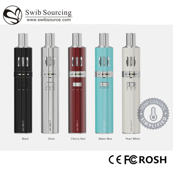 Joyetech ego one kit 2200mah eGo ONE CT/VT starter kit with joyetech ego one coil CT-Ti /CT-Ni/CW modes