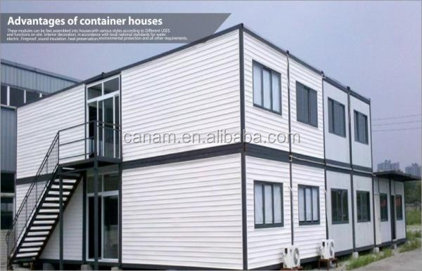 Two Storey cheap and high quality steady contianer refugee camp tent