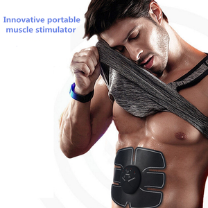 2018 Newest Effective electronic ems muscle stimulator muscle training for women men sex fresh
