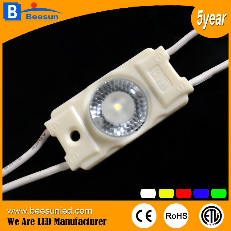 12v 1.44w Back light 160degree LED Injection Module for advertising lightbox