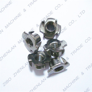 304 Stainless Steel Furniture Fastener Chair Insert T Nut