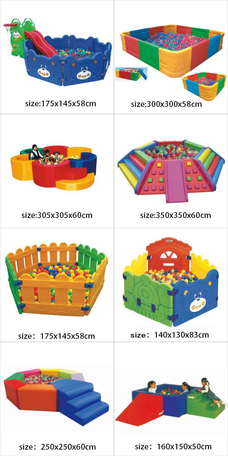 Wholesale kids 6cm mini plastic set 5000 ball pit balls