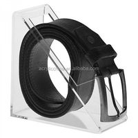 Factory price for acrylic leather belt display rack