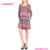 Christmas Series Seamless Cloths Women Simple Design Dress For Girls