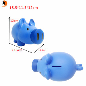 china manufacture piggy bank customer design coin box colorful saving money box