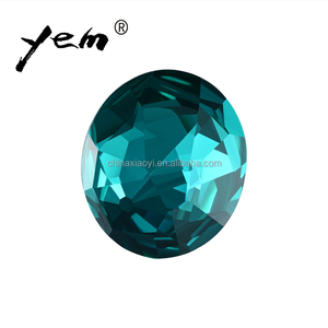 Clear Round flat back resin Diamond Stone for wedding jewelry