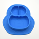 Owl Shape Silicone Plate Suction Dishes/Plates