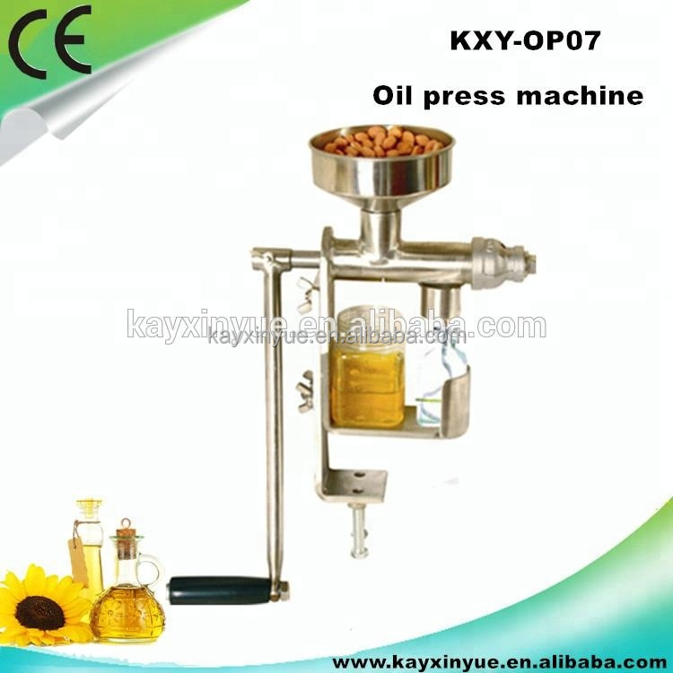 KXY-OP07 Hot sale manual mini coconut/avocado/castor/peanut oil press machine
