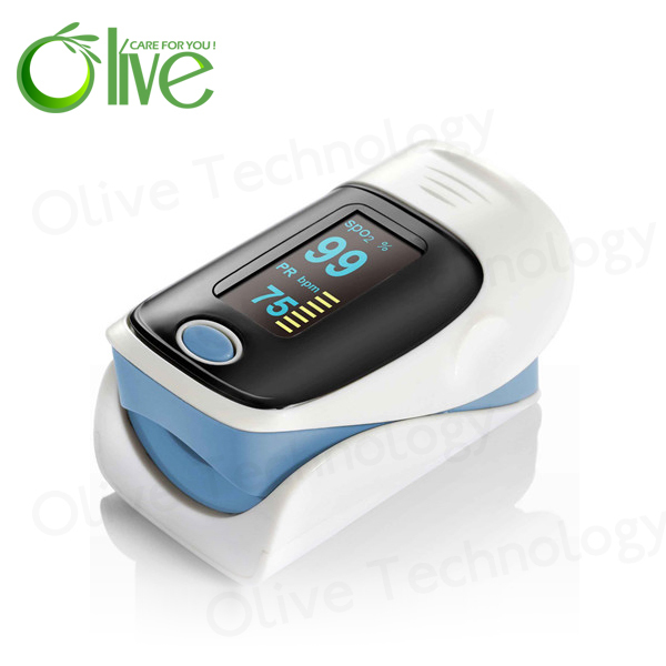 2017 Most Popular Five colors Finger Pulse Oximeter from Factory price