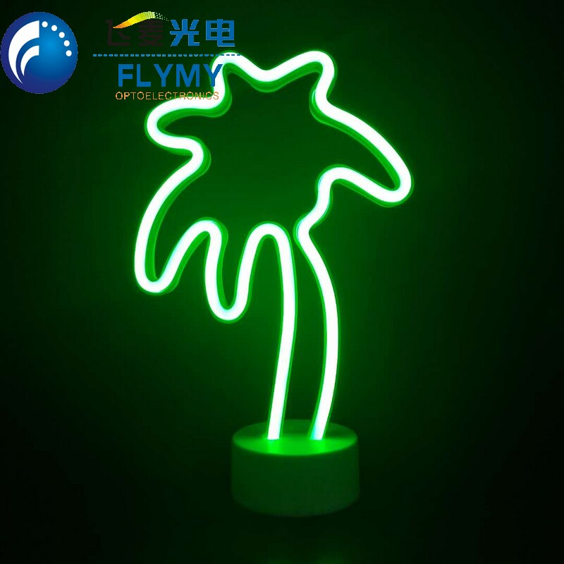 New Product Lighting Up Led Angel Neon Light With Separated Base Warm White Light Wedding Home Indoor Decoration