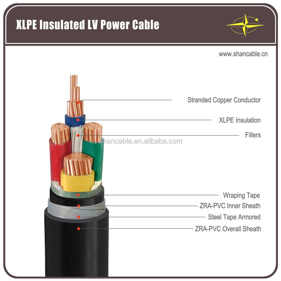 0.6/1kv Cu/xlpe/swa/pvc Power Cable, 0.6/1kv Cu/xlpe/swa/pvc Power ...