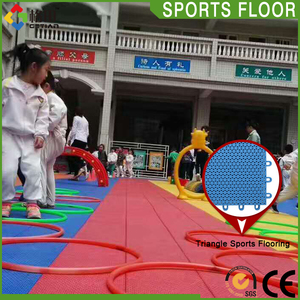 Shock absorption kid safe flooring,china supplier kids plastic floor mat,floor tiles for kids