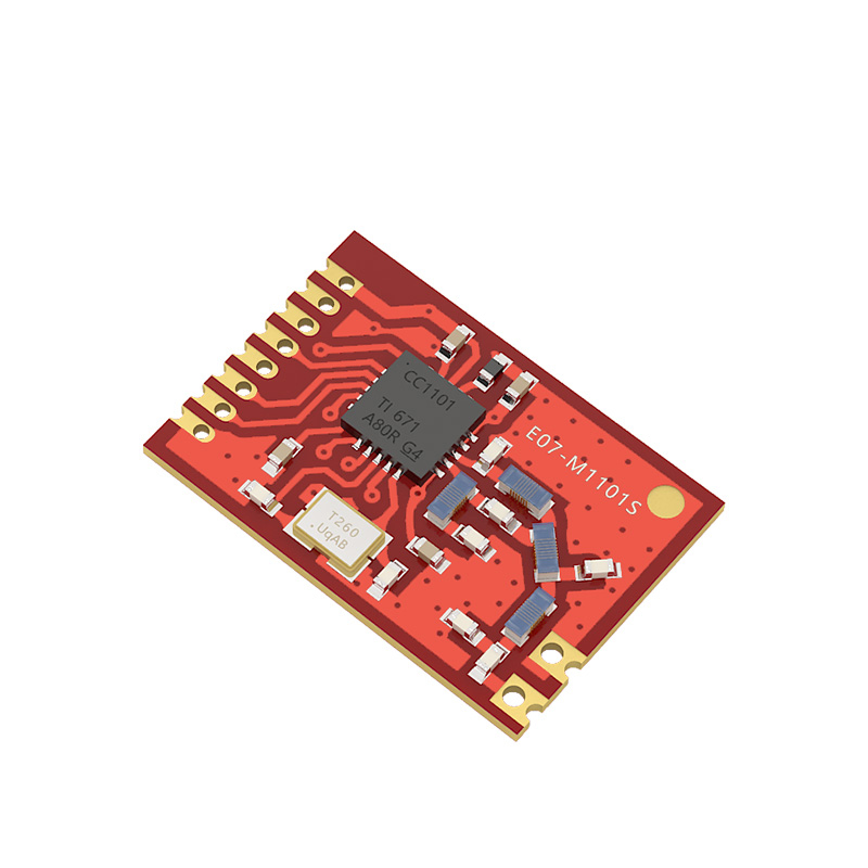 low power consumption 100mW 433mhz rf transceiver module SMD cc1101 rf module 1km wireless transmitter and receiver module spi
