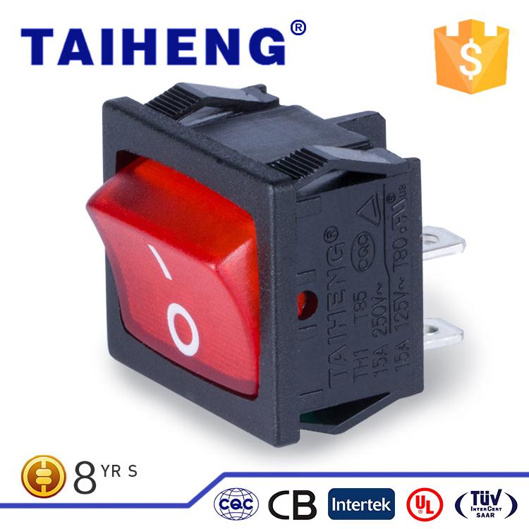 Factory wholesale dpdt waterproof switch ,t120/55 rocker switch 4 pin on-off
