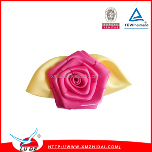 Gift packing use 100% Polyester Satin Ribbon rose
