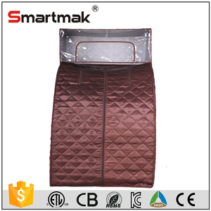 1 person folding portable steam sauna tent with popular hat
