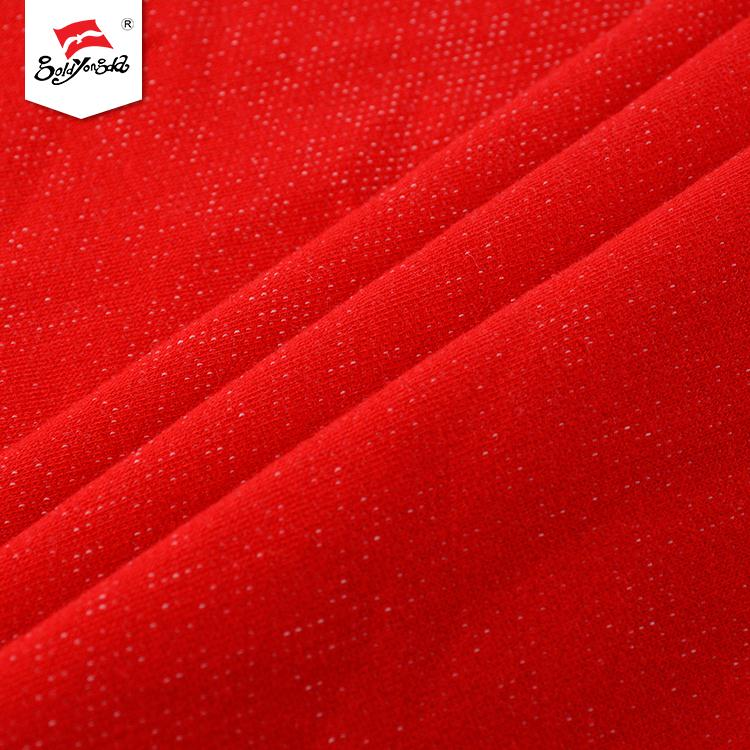 China supplier fashionable plain knitted cloth fleece baby terry fabric for garment