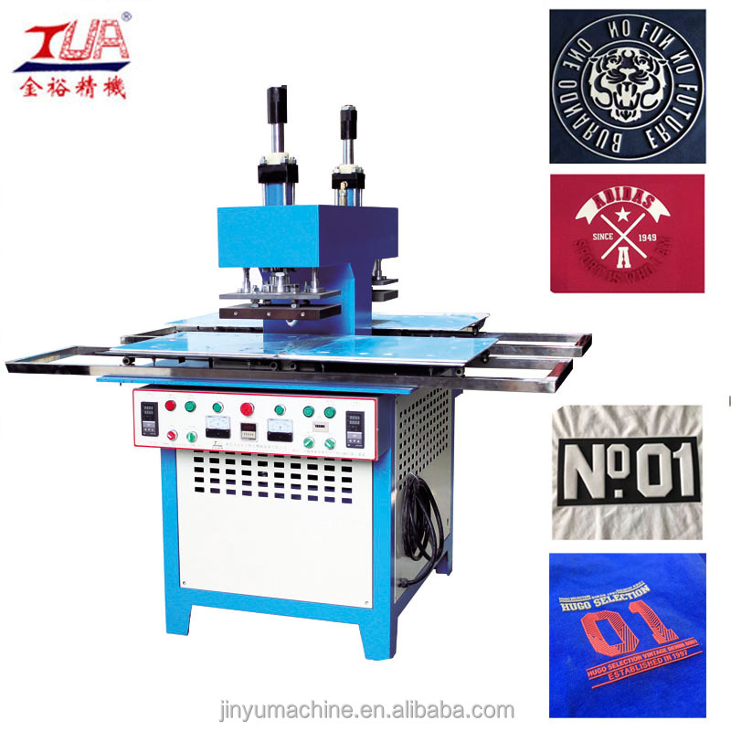 automatic Cloth embossing printing machine