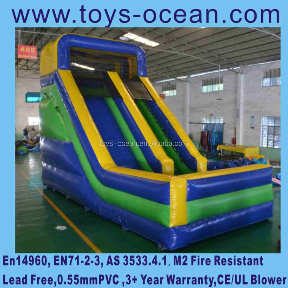 China small indoor inflatable slide commercial dry