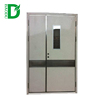 2 hours Fire rated steel doors with vision panel