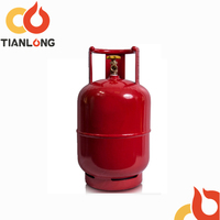 26.5L portable hp295 steel liquid storage gas cylinder
