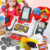 Intelligent supermarket learning cashier set cash register toy for kid