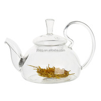 Hot Selling Useful Promotional Gift Customized Heat Resistant Borosilicate Glass Tea Pot With 2 Cups