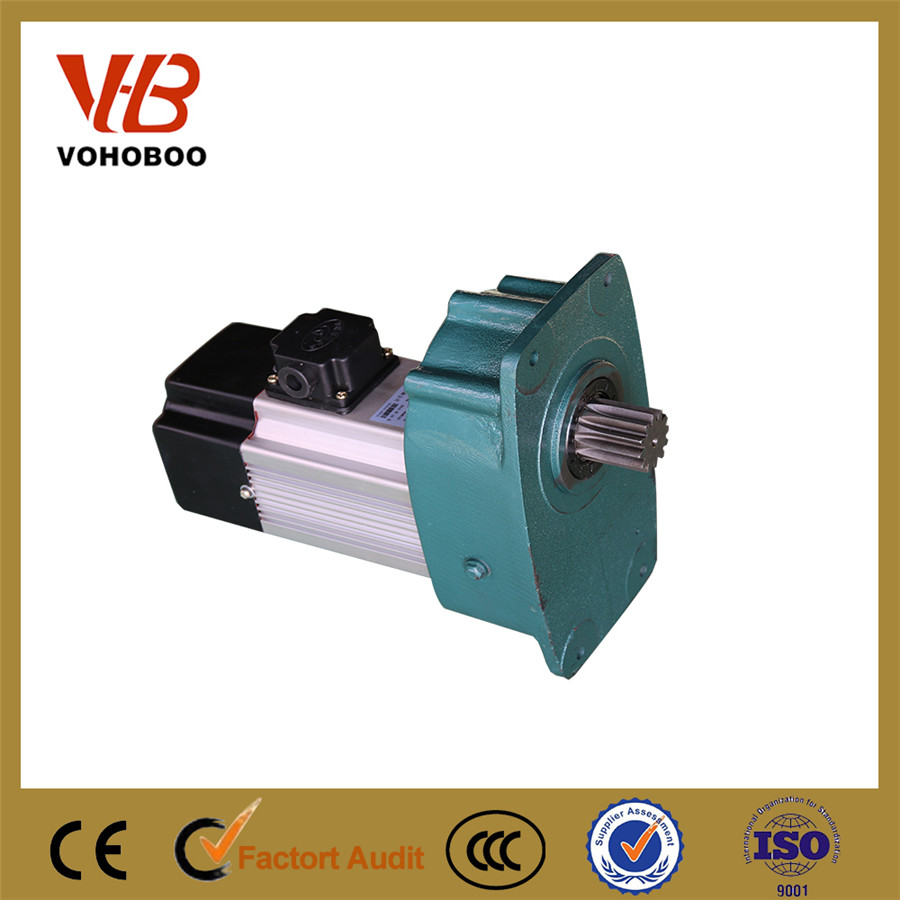 China frequency converter asynchronous high torque low rpm gear motor