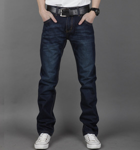 HT-MJ european style fashion pants 2017 wholesale high quality boutique boys clothing pants handome business new man jeans