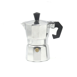 wholesale aluminum mini espresso stove top coffee maker