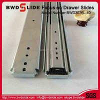 BWD3076L-40 Manufacturer Sale 2.0*2.0*2.0 Roller Ball Bearing Drawer Slide For Furniture