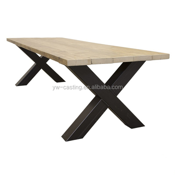 China Wholesale Hot Sales Black Metal Dining Table Bench Legs