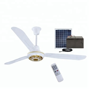 56inch solar dc electrical ceiling mounted 12v solar fan