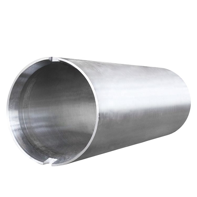 high precision large size customized forging alloy steel spool sleeve
