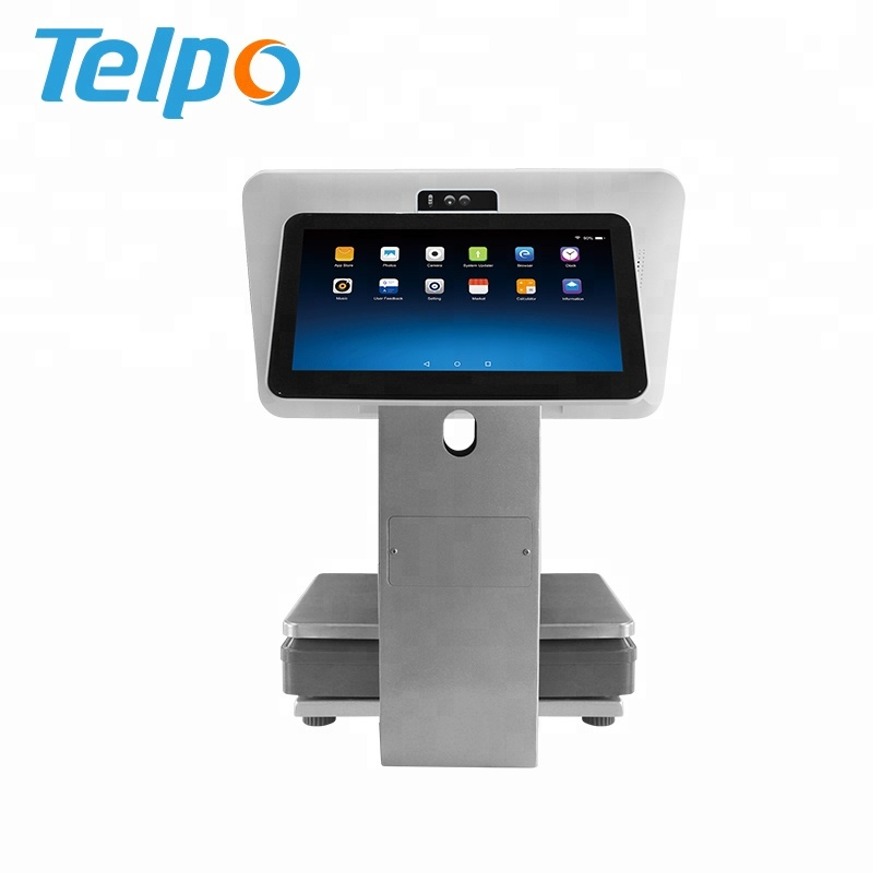 Telpo Pos Scales All In One Touch Android Cash Register Weighing Scale With  Printer, View 30kg Ticket Cash Register Digital Weighing Scale with