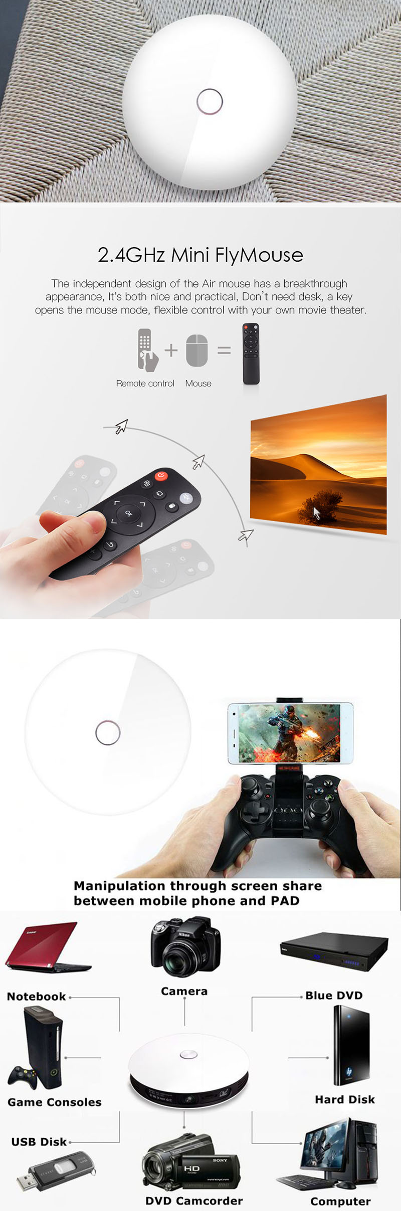 Android wifi astuto senza fili di bluetooth HD video 1080 p 4 k 3d home theater mini proiettore dlp uv portatile con HD USB di DEVIAZIONE STANDARD TF carta