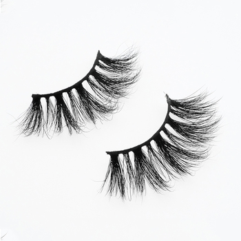 New Product Private Label 25 mm Eye Lashes 5D Siberian Mink 25mm Eyelashes