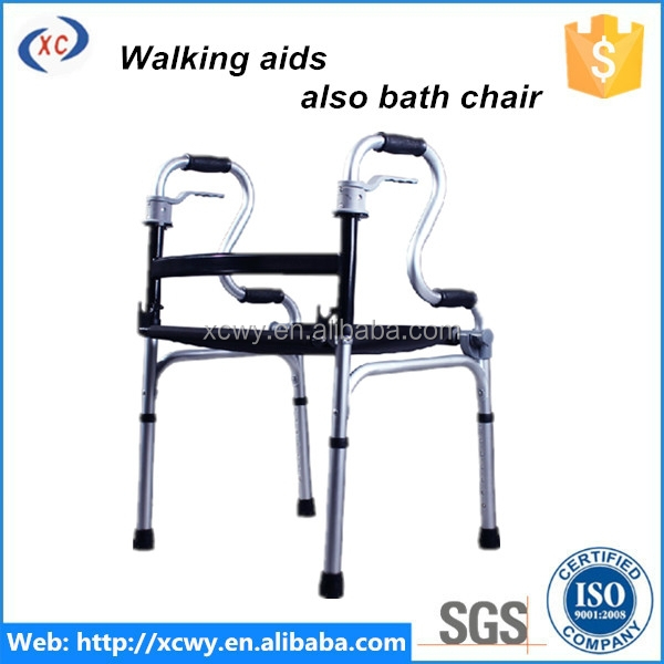 ISO certificated disability rollator walker with seat
