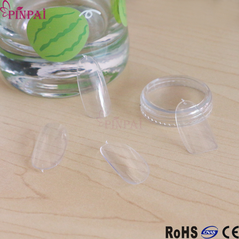 PinPai brand curved nail tips 0-9 single number sale artificial nail tip